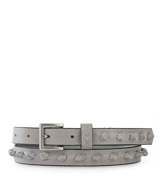 Asmara Leather Belt by Liebeskind in Elephant at Jophiel