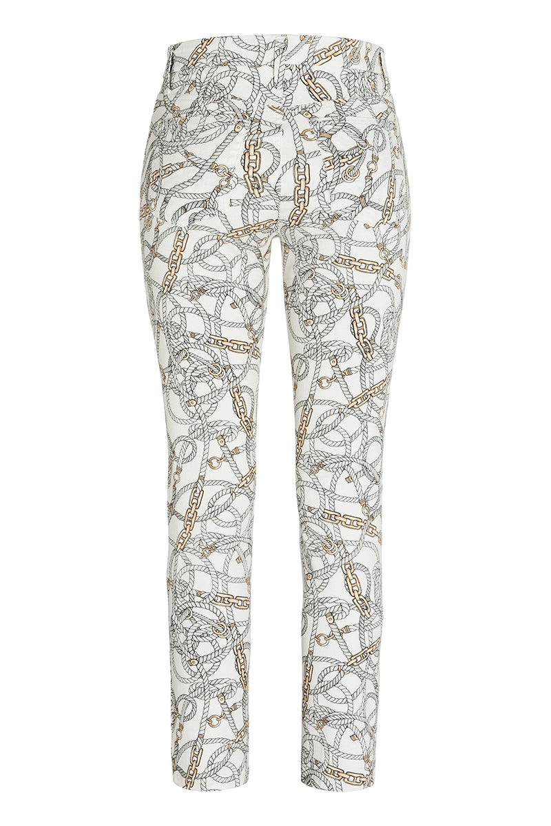 Parla Rope Print Jean by Cambio at Jophiel