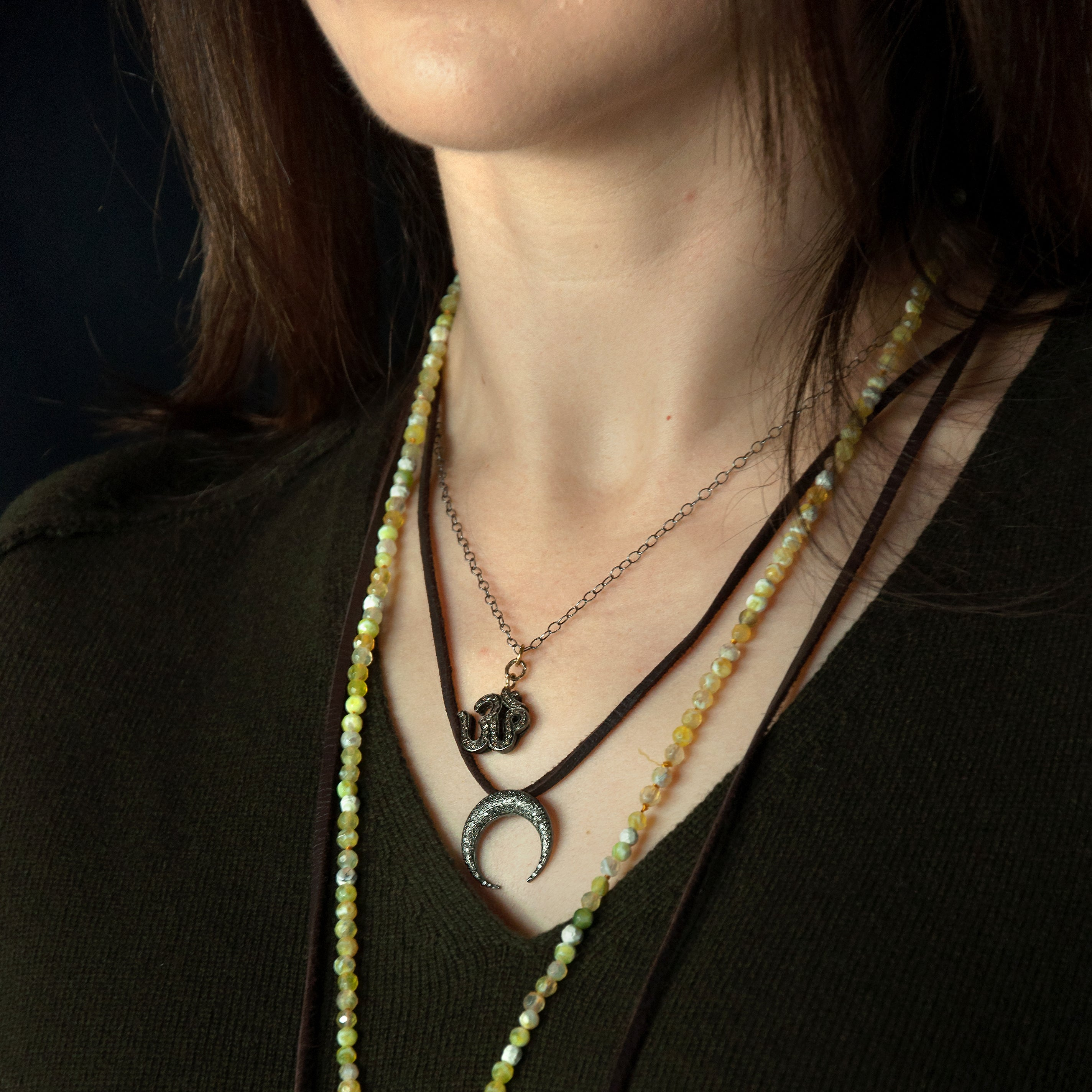 Cheryl Dufault Designs Diamond Om Jophiel