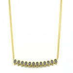 FREIDA ROTHMAN DECO BAR NECKLACE JOPHIEL
