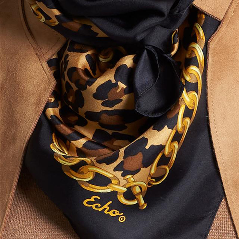 Cheetah Status Square Scarf by Echo at Jophiel