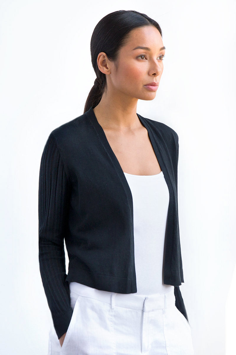 Dress Cardigan by Kinross Cashmere at Jophiel