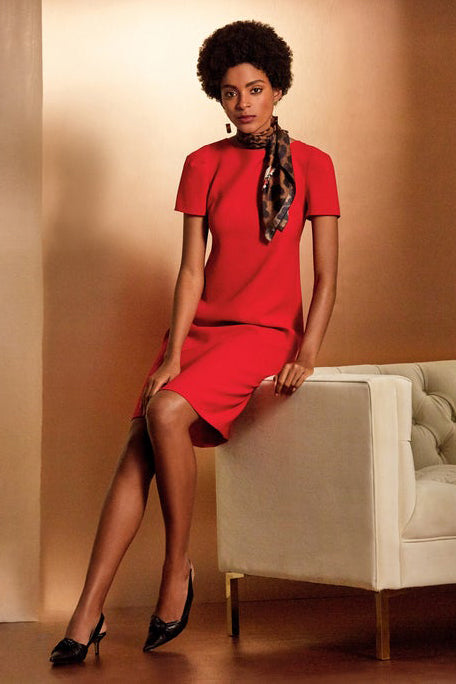 Finesse Crepe Cohen Dress by Lafayette 148 New York at Jophiel