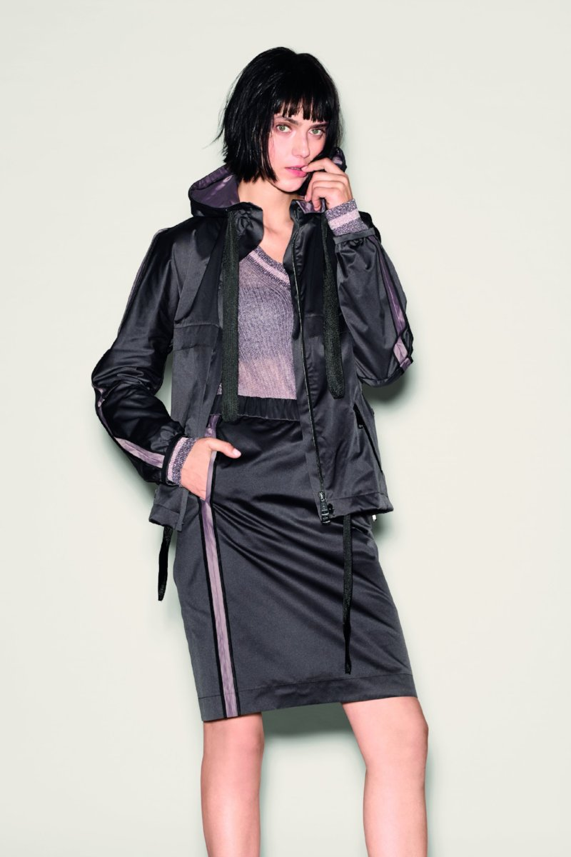 Satin Jacket by Luisa Cerano at Jophiel