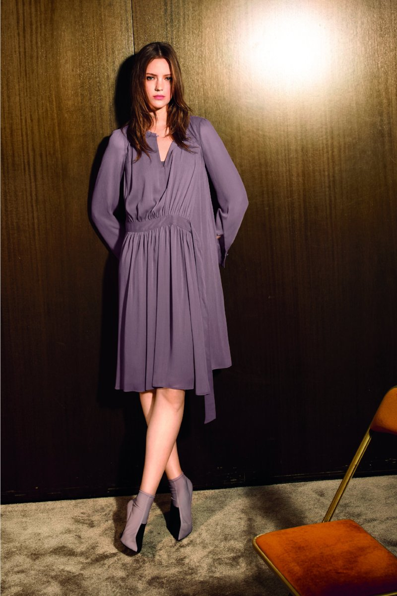 Wrap Dress by Luisa Cerano at Jophiel