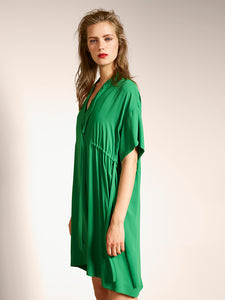Luisa Cerano Silk Dress At Jophiel