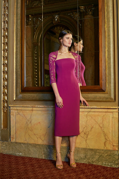Lucian Matis 3/4 Sleeve Dress Jophiel