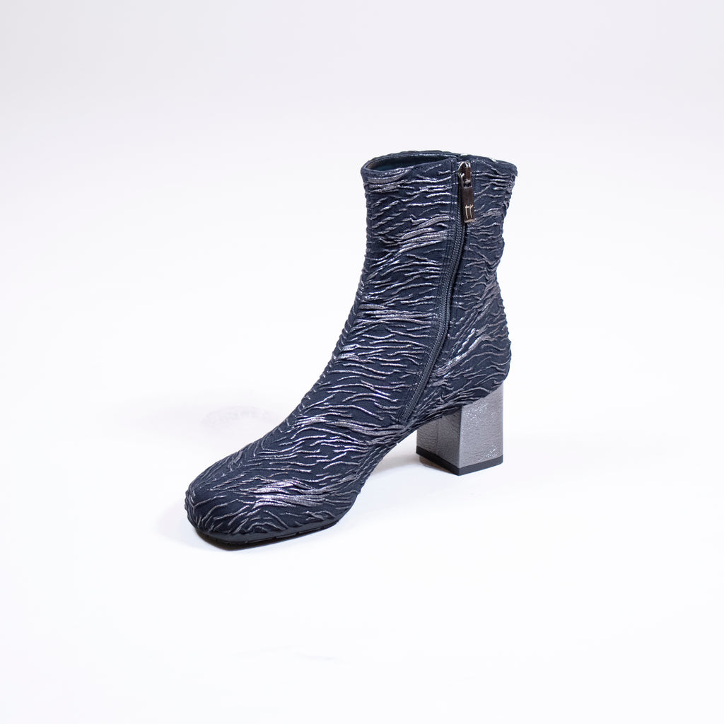 Block Heel Bootie by Thierry Rabotin at Jophiel