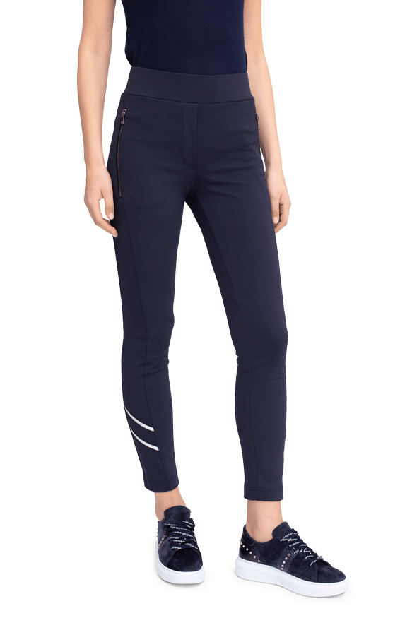Elegant Trousers With Zip Pockets by Riani at Jophiel