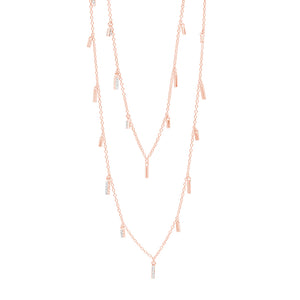 Freida Rothman Droplet Station Necklace At Jophiel