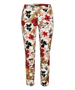 Rafferty Floral Trousers by Cambio at Jophiel