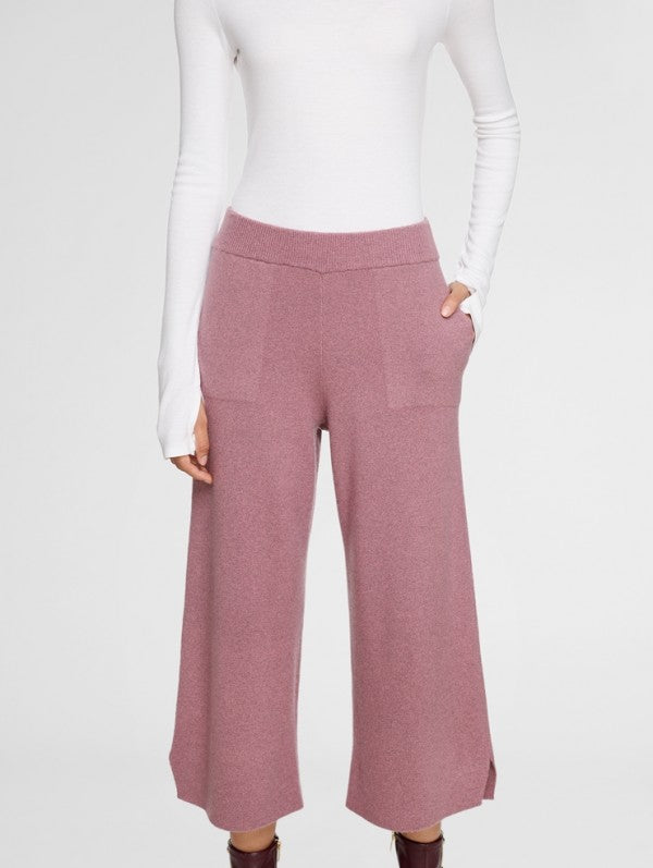 Merino Cashmere Culotte Pant by White + Warren at Jophiel