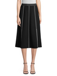 Yari Finesse Crepe Skirt by Lafayette 148 New York at Jophiel