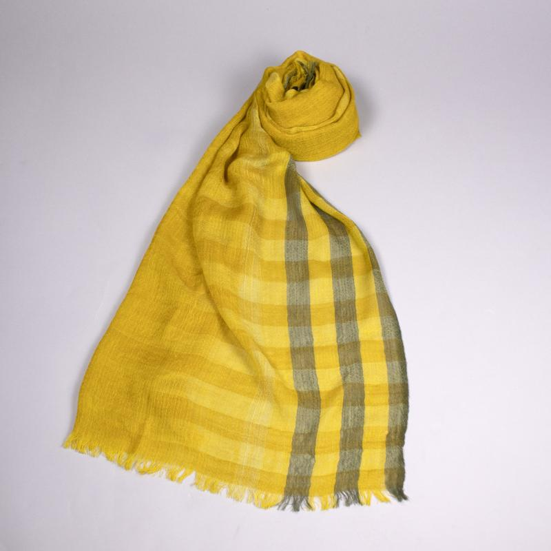 Mustard Seed Scarf by Eileen Fisher at Jophiel