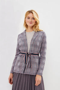 Plaid Wrap Jacket by Gerry Weber at Jophiel