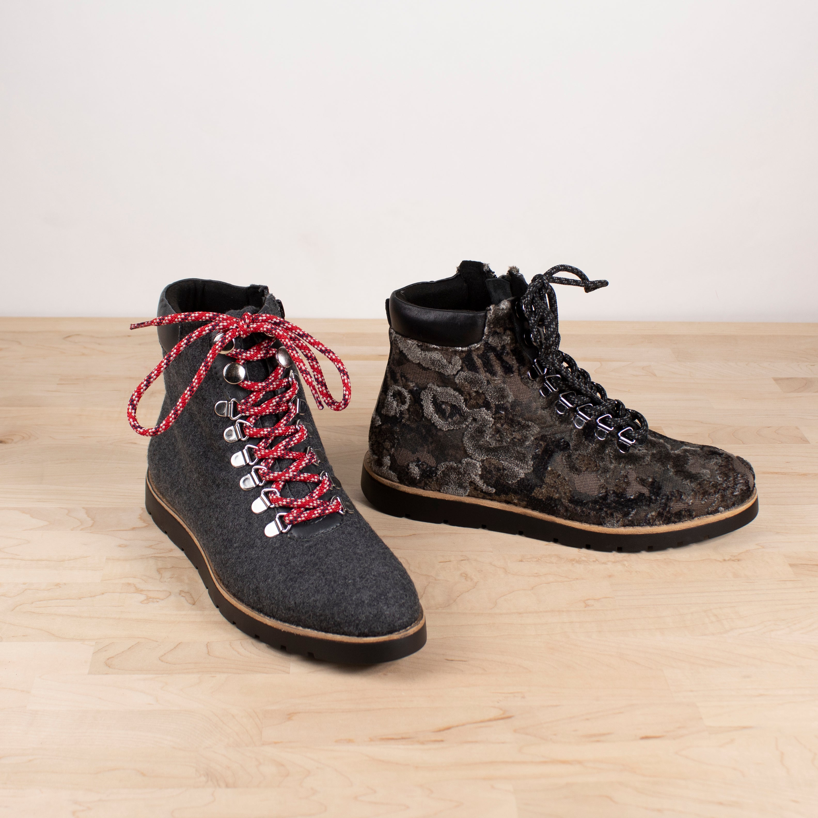 JONNIE LACE UP BOOT