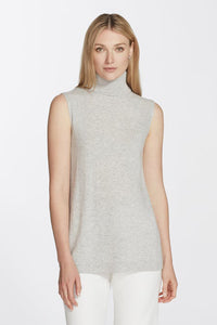 Cashmere Sleeveless Turtleneck by Lafayette 148 New York at Jophiel