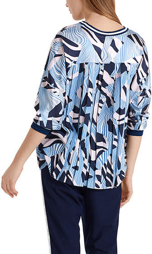 Marc Cain Printed Blouse at Jophiel