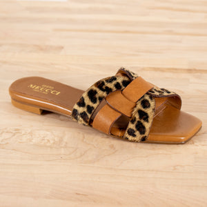 Animal Print Sandal Magda by Sesto Meucci at Jophiel