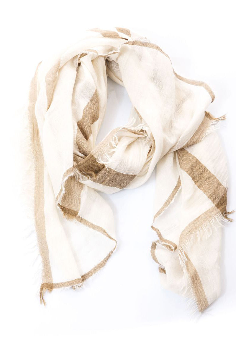 Zabo Scarf by Annette Gortz in Beach at Jophiel