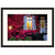 Burgundy Window  - Fine Art Photograph by Andy Katz  - Framed Wall Art