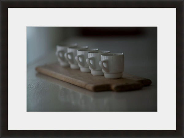 Caffeine Overload  - Fine Art Photograph by Seth Wolfson  - Framed Wall Art
