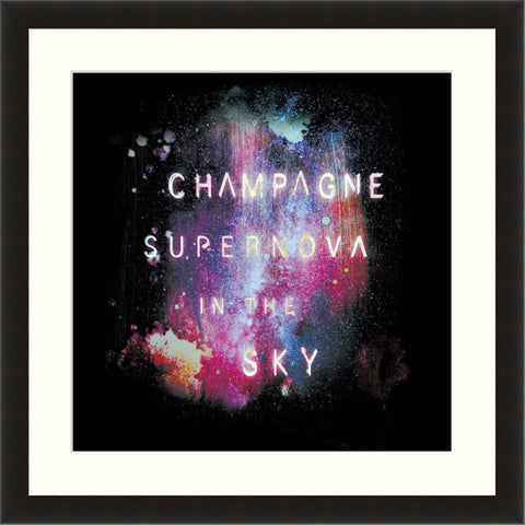 Champagne Supernova - Lyric Culture  - Fine Art Photograph by Lyric Culture  - Framed Wall Art
