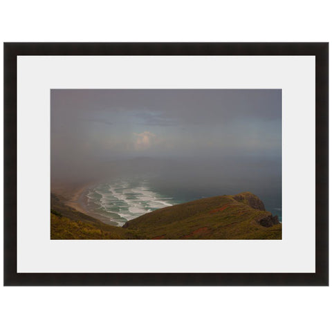 Coastal Waves  - Fine Art Photograph by Andy Katz  - Framed Wall Art