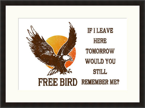 Free Bird - Lyric Culture  - Fine Art Photograph by Lyric Culture  - Framed Wall Art