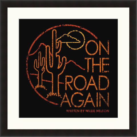 On The Road Again - Lyric Culture  - Fine Art Photograph by Lyric Culture  - Framed Wall Art
