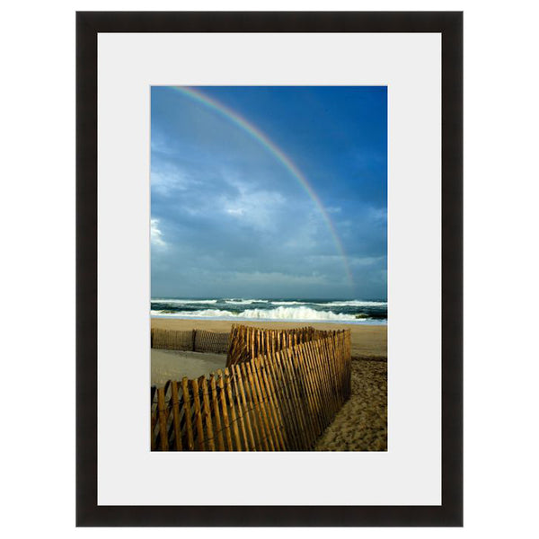 Rainbow Beach  - Fine Art Photograph by Andy Marcus  - Framed Wall Art