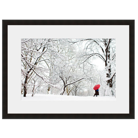 Red Umbrella  - Fine Art Photograph by Andy Marcus  - Framed Wall Art