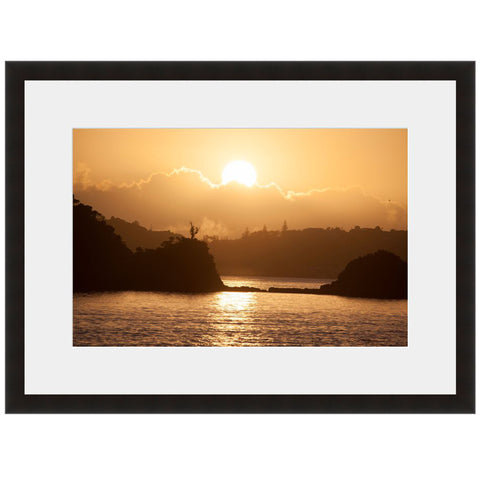 Sunset Lake  - Fine Art Photograph by Andy Katz  - Framed Wall Art