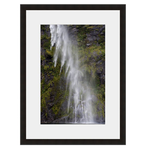 Waterfall Mist I  - Fine Art Photograph by Andy Katz  - Framed Wall Art