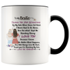 To My Bestie - Thank you for Standing By My Side Gift For BestFriend Mug