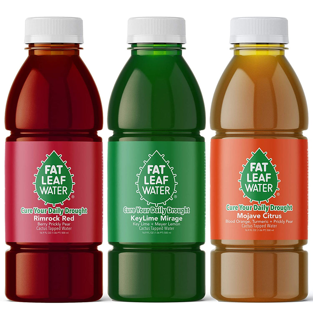 Fat Leaf Water Variety 3-pack