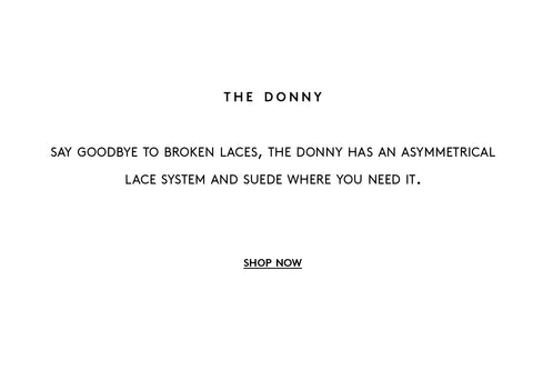 donny, suede where you need it, made for skateboarding, vulcanized rubber, independent small business