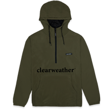 Load image into Gallery viewer, Lightweight Windbreaker Army Green profile view