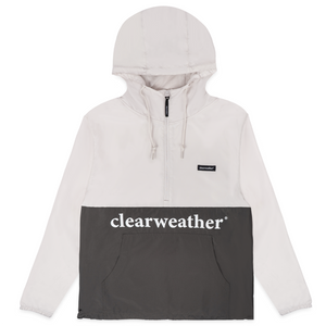 LIGHTWEIGHT PULLOVER WINDBREAK / GREY/CHARCOAL