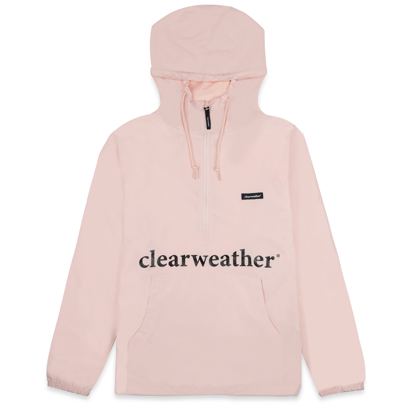Lightweight Windbreaker Light pink profile view