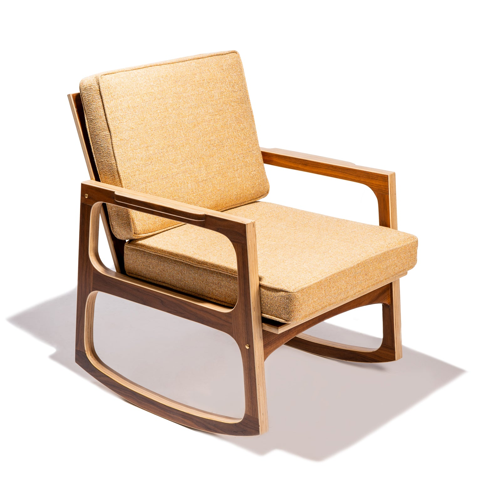 Mid Century Rocking Chair - Clear Weather