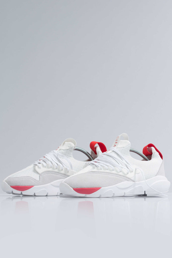 CLOUD STRYK in White Red