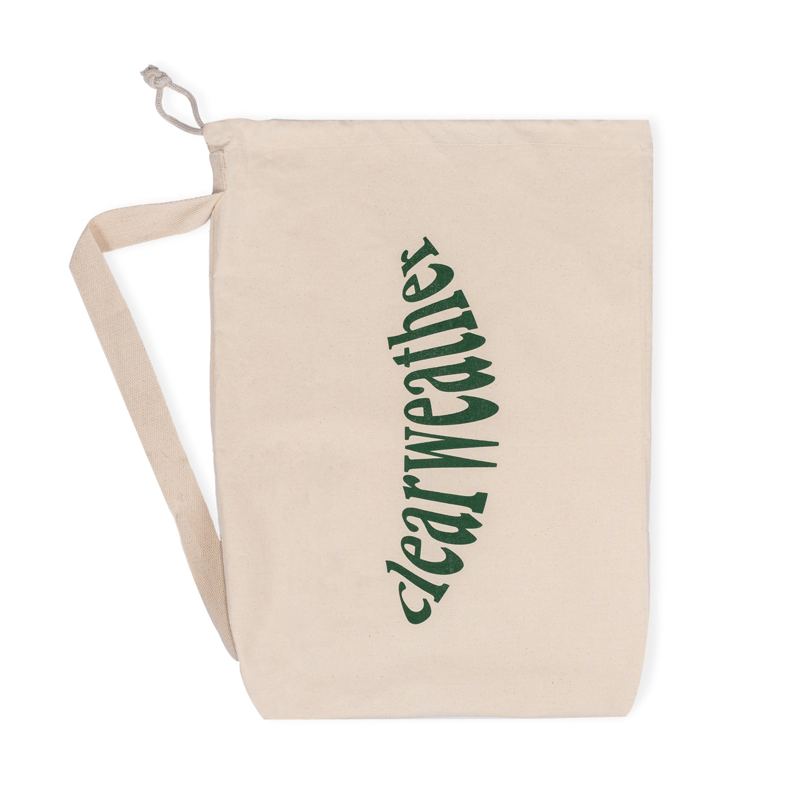 HAPPY BEACH BAG FOREST GREEN