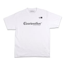 HOME TEE in WHITE - Clear Weather