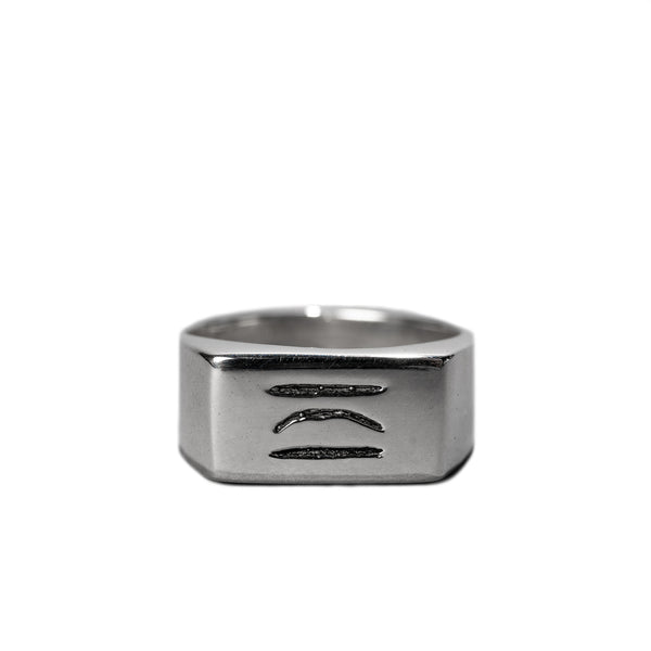 CW LOGO RING / SILVER - Clear Weather