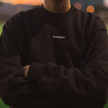 Load image into Gallery viewer, AWAY CREWNECK in BLACK - Clear Weather