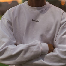 Load image into Gallery viewer, HOME CREWNECK in WHITE - Clear Weather