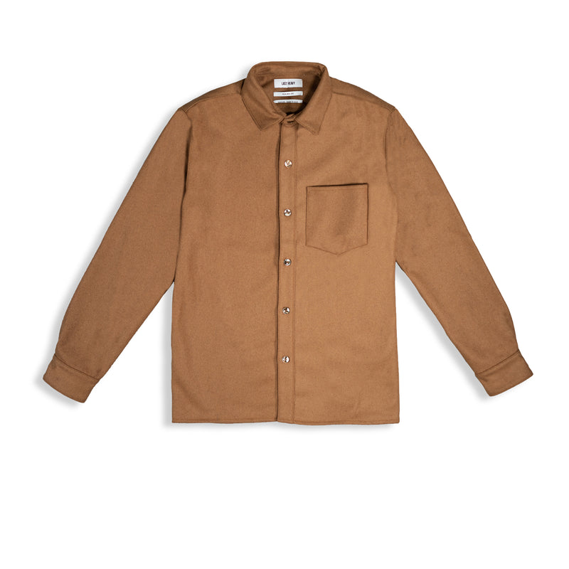 WORK SHIRT / CARAMEL - Clear Weather
