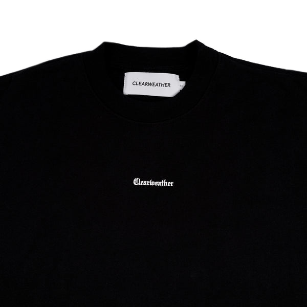 AWAY CREWNECK in BLACK - Clear Weather