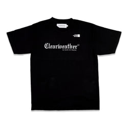 AWAY TEE in BLACK - Clear Weather